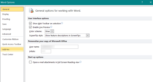 Microsoft Word cómo cambiar la fuente predeterminada