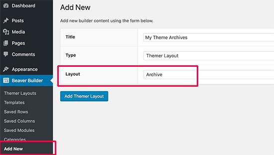 Crea un diseño de archivo para tu tema personalizado