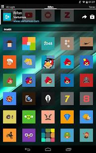 Rifon - Captura de pantalla del paquete de iconos