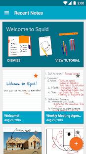 Octopus - Tomar notas y marcar captura de pantalla en PDF