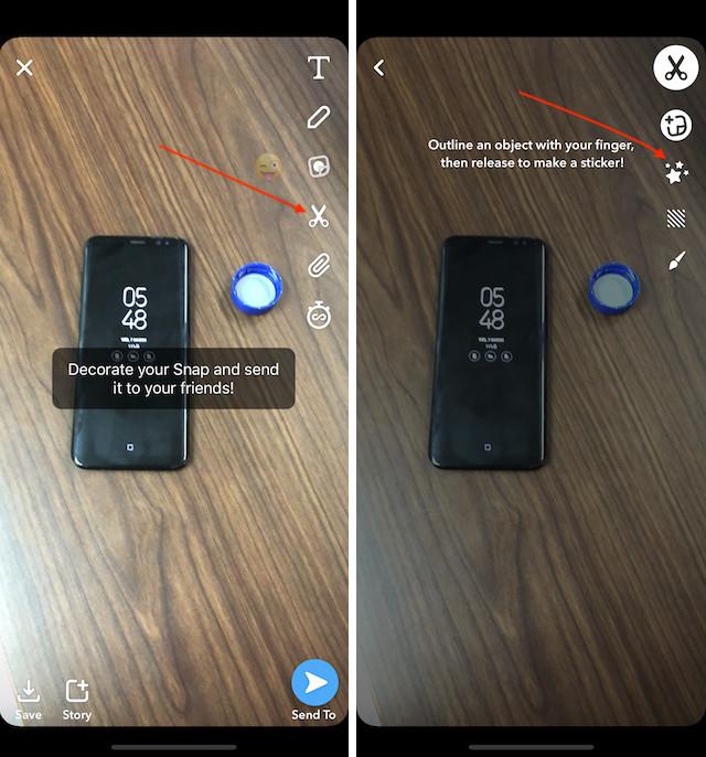 11. Snapchat-da Sehrli Silgi Vasitəsindən istifadə edin 1