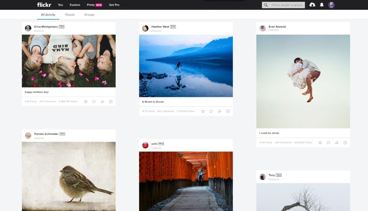 Los mejores sitios de alojamiento de imágenes Flickr
