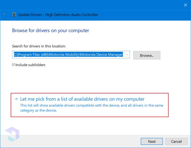 Paso B: cómo superarlo No hay ningún dispositivo de salida de audio instalado 5