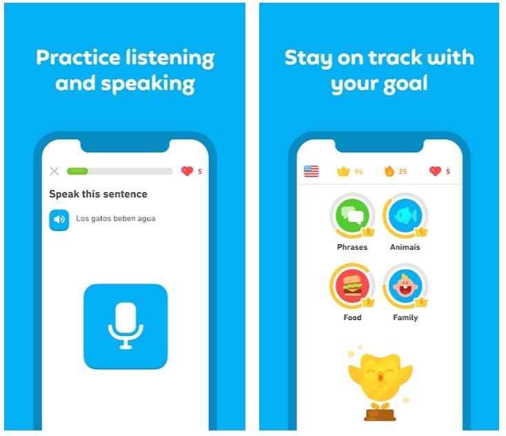 Duolingo tətbiqi