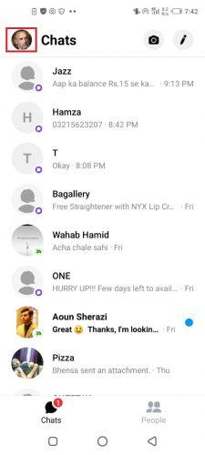 Nicht befreundet messenger lesebestätigung facebook facebook messenger