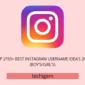 2765+ Lo mejor Instagram Idea Nombre de usuario 2020 Febrero (Niños / Niñas)