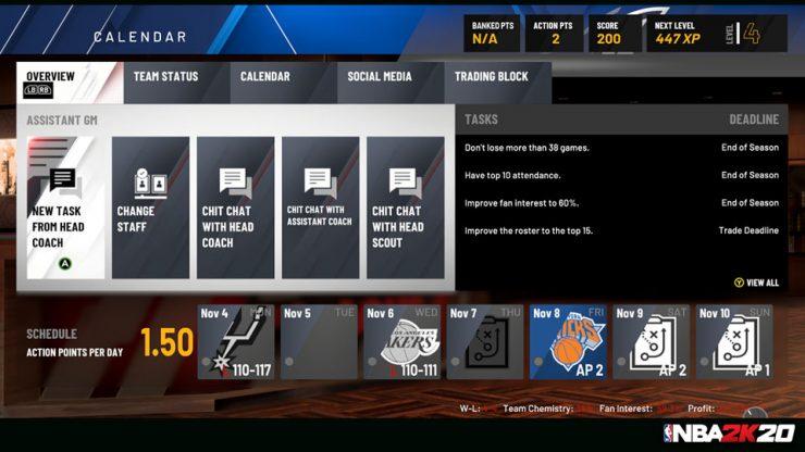 2K menghadirkan Mi GM 2.0 untuk NBA 2K20