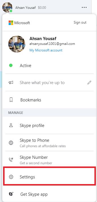 skype hesabınızın addımını necə silmək olar 3