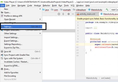 Android Studio üçün Sdk Alətlərini necə yükləmək olar 3
