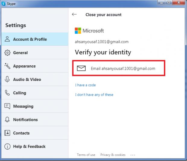 Làm cách nào để xóa bước tài khoản skype của bạn 6