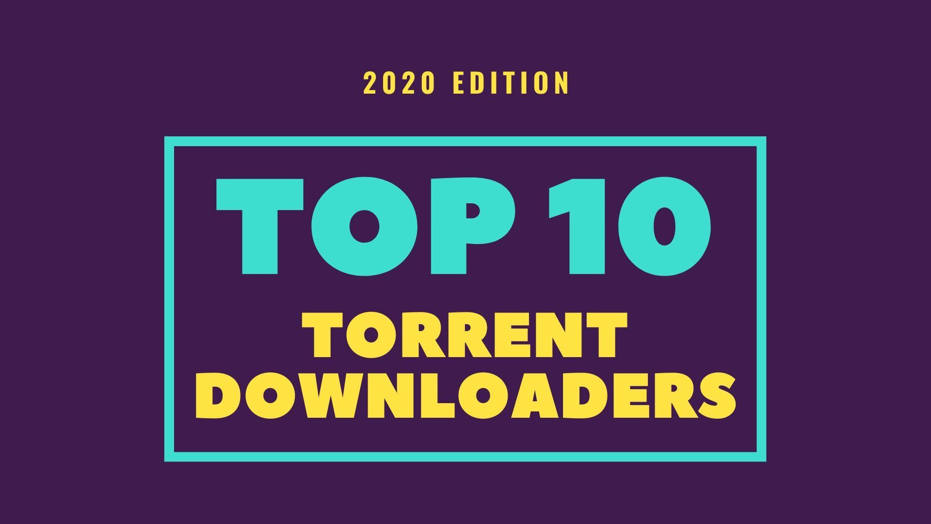 8 Les meilleurs clients torrent pour Windows Télécharger Torrents In 2020 1