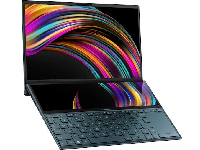 ASUS Meluncurkan Notebook ZenBook Duo UX481 Layar Ganda