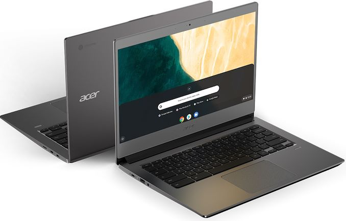 Acer Meluncurkan Six Chrome Enterprise PC: Notebooks, Convertibles, Desktops