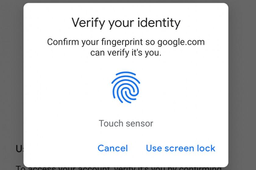 Anda sekarang dapat masuk ke beberapa situs web Google di Android hanya dengan sidik jari Anda