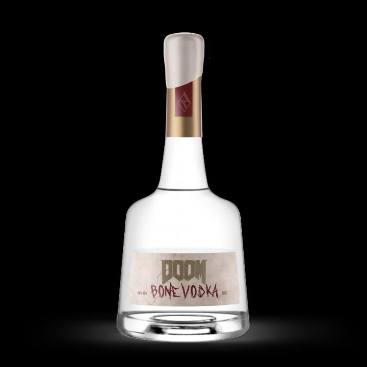 Anda sekarang dapat memesan di muka Doom dengan merek 'Bone Vodka', jika itu yang Anda inginkan
