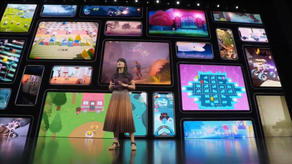 Beberapa eksklusif Apple Game arcade sebenarnya bisa dimainkan di konsol