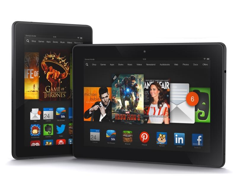 Amazon Kindle        Fire HDX tulee Englantiin ensi kuussa