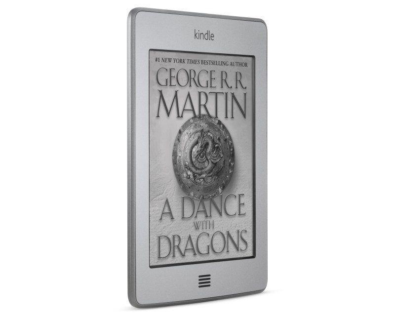 Amazon Kindle  Tinjauan sentuh