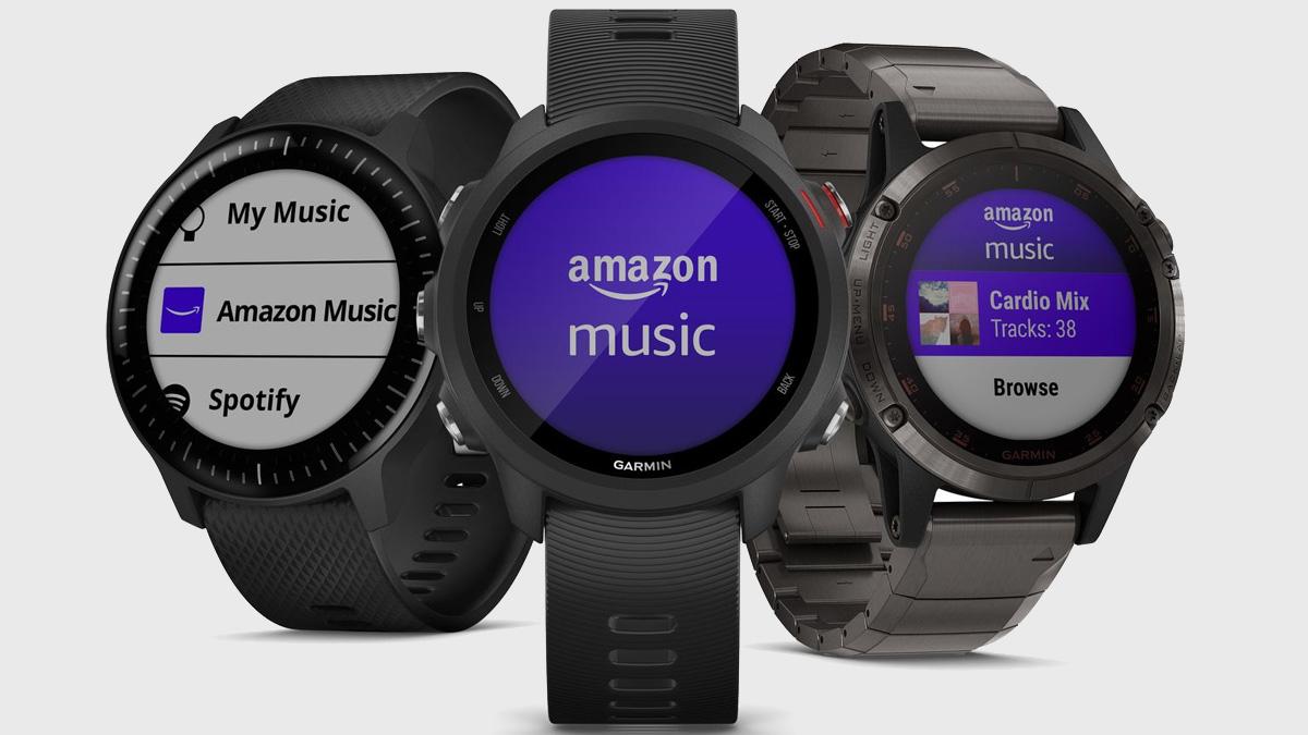 Amazon Musik merilis aplikasi jam tangan pintar pertama di perangkat Garmin 1