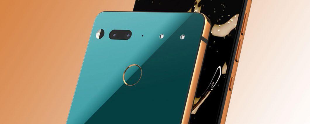 Android Q Beta 6: beberapa Ponsel Esensial di batu bata