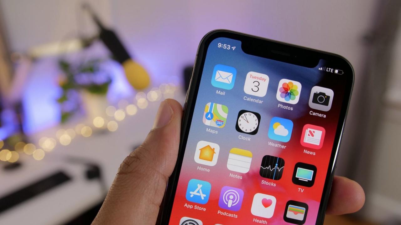Apple lopeta kaikkien iOS 12 -versioiden allekirjoittaminen.3