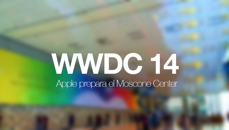 Apple mempersiapkan Moscone West Center untuk WWDC 14 1