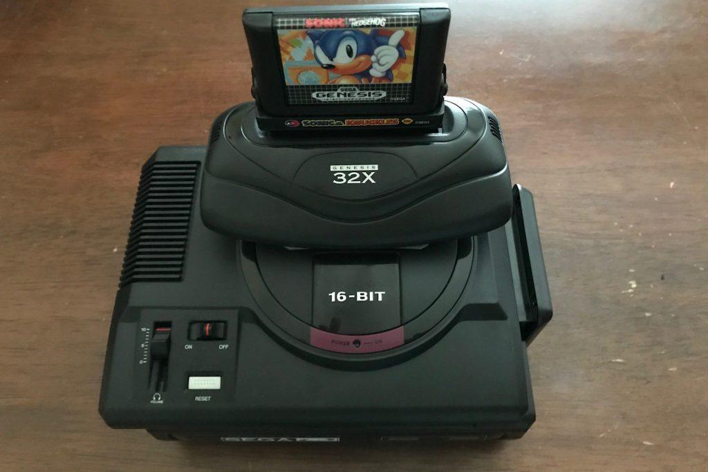 Inilah yang terlihat seperti 'Tower of Power' Sega Mini (yang tidak dijual di barat) seperti dari dekat