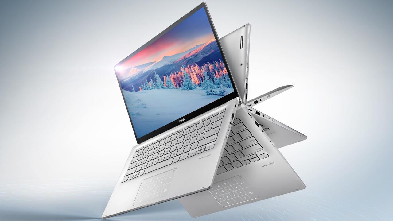 Asus ZenBook 14: NanoEdge-Display trifft auf AMD Ryzen 3000U