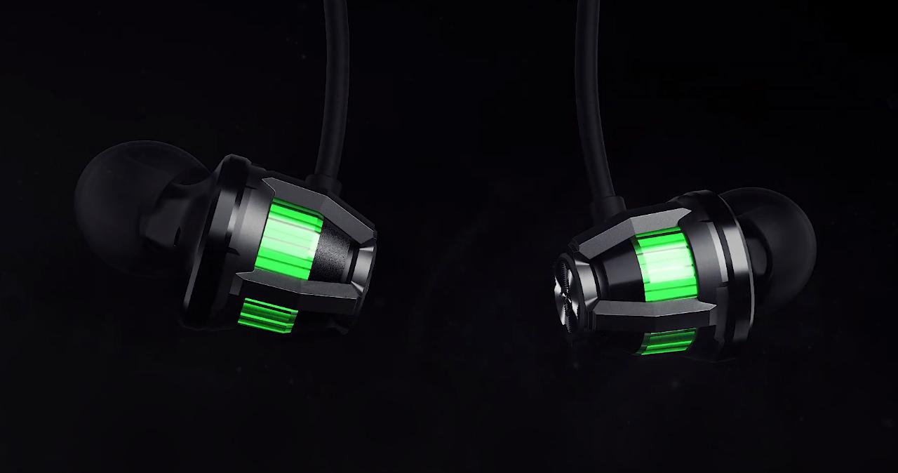 Black Shark Ophidian, demikian pula headphone nirkabel Black Shark baru dengan pencahayaan RGB, latensi sangat rendah dan otonomi hingga 14 jam