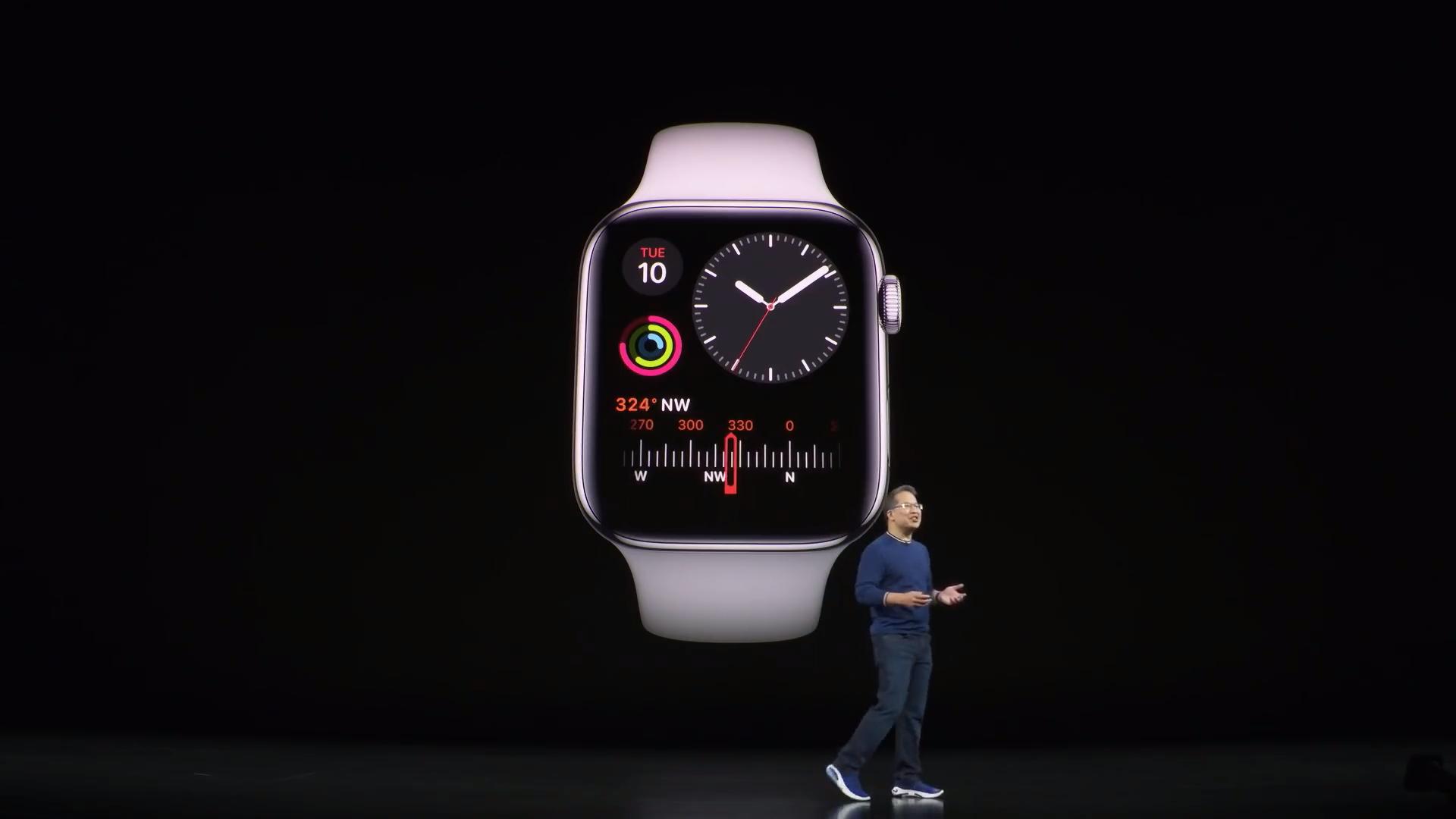 Cara mematikan layar selalu menyala Apple Watch 5 seri 1