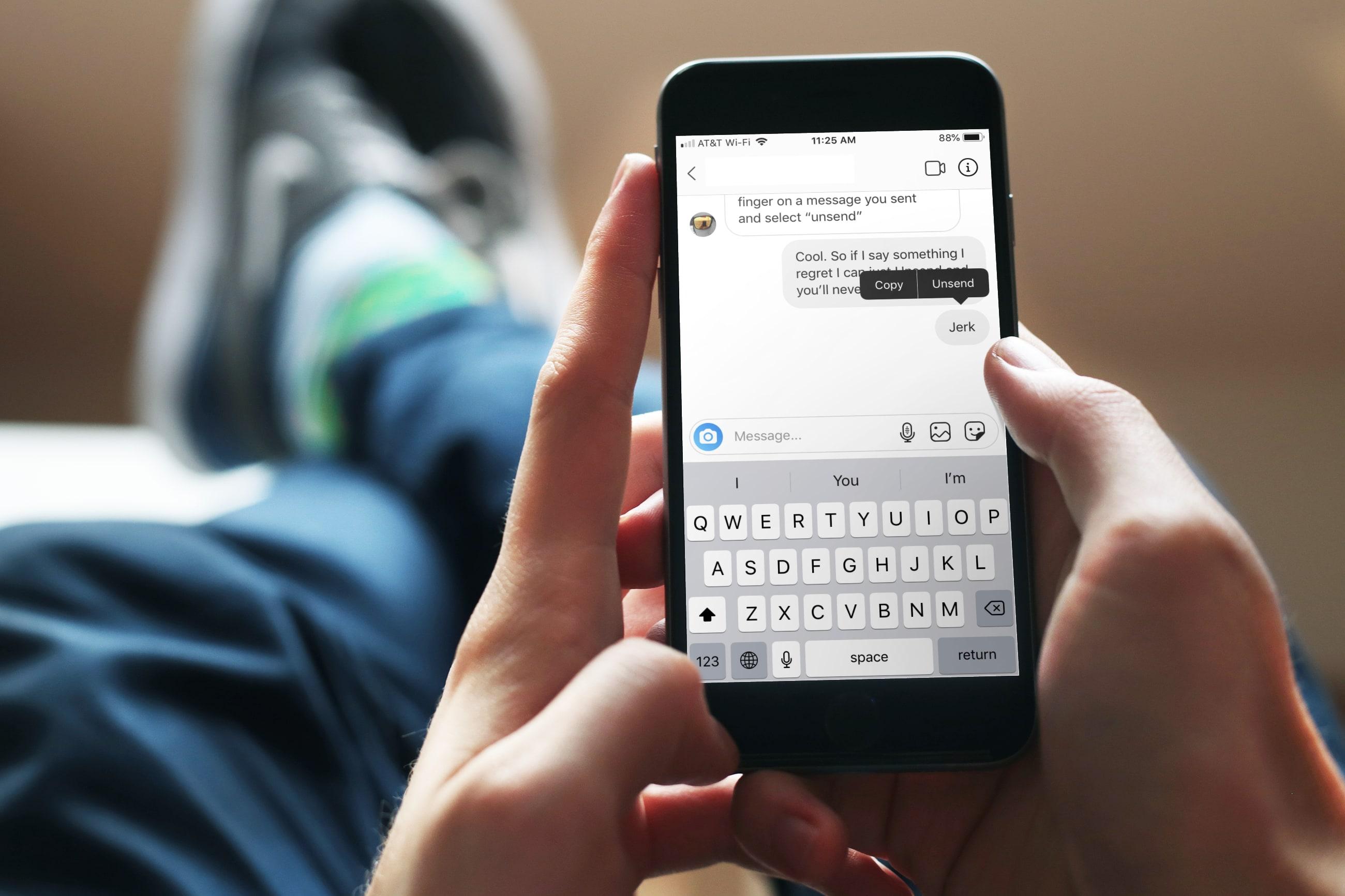 Eliminar mensaje privado Instagram iPhone