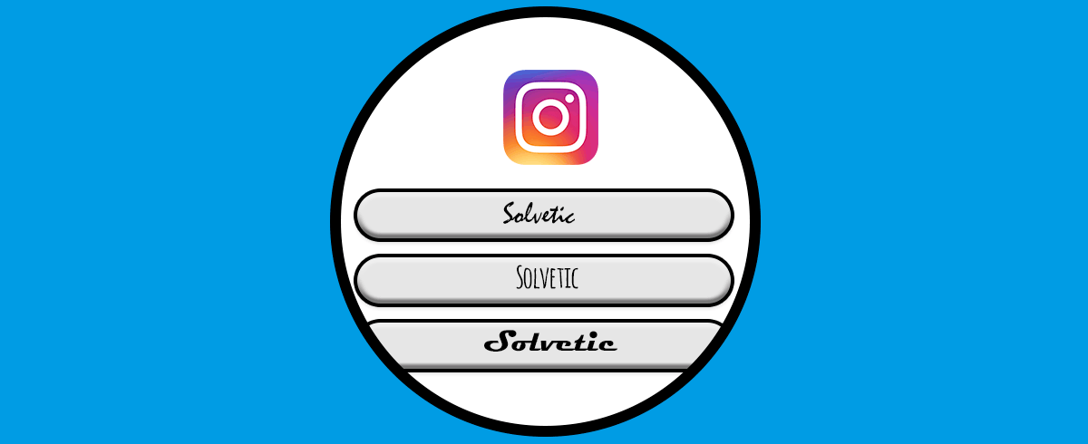 How to change the letter Instagram iPhone 1