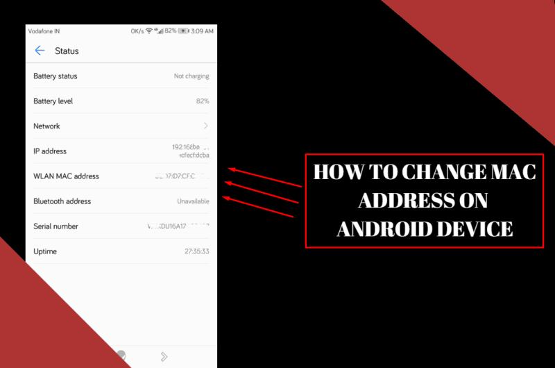 Ubah Alamat Mac Di Android