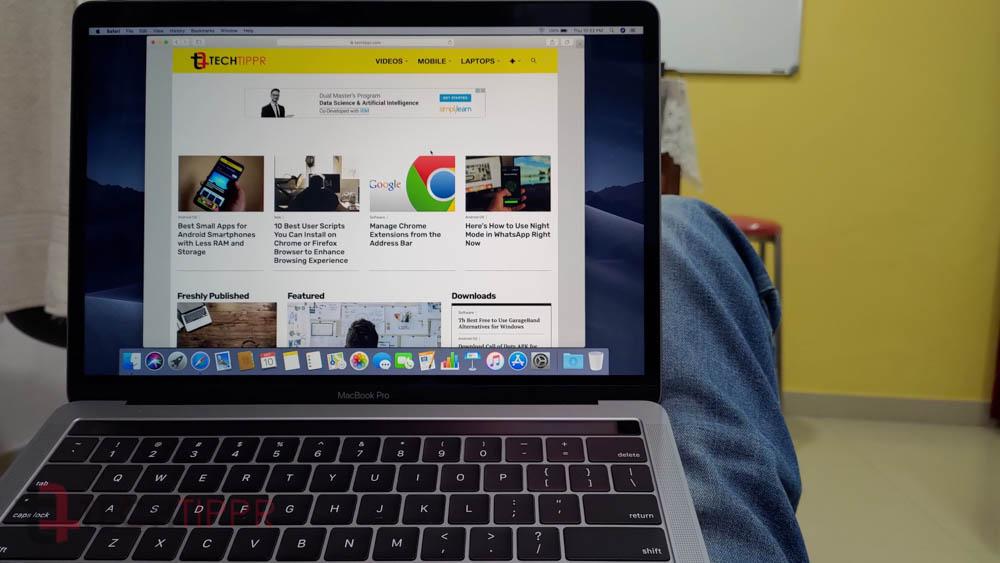 Ulasan MacBook Pro 13 (Juli 2019)