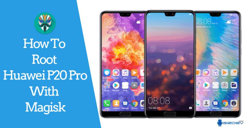 Buka Bootloader Huawei P20 Pro dan Root Huawei P20 Pro