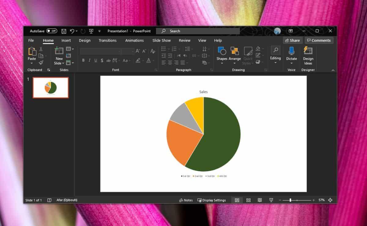 Cara mengatur warna khusus untuk tema bagan di PowerPoint untuk Office 365 2