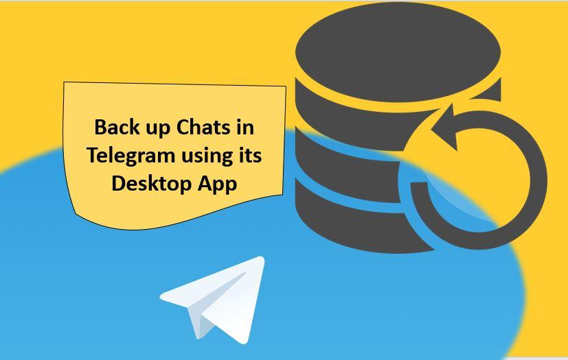 Cara mengekspor obrolan di Telegram menggunakan aplikasi desktop Telegram