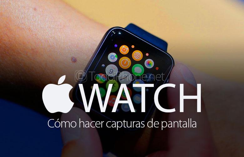 Cara membuat tangkapan layar di Apple Watch 1