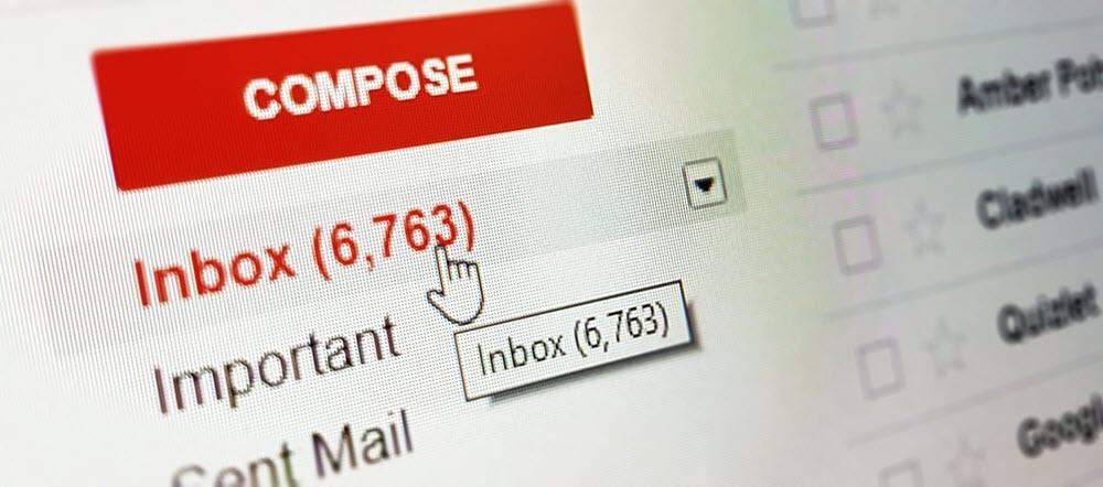 Cara mencetak email dari Gmail