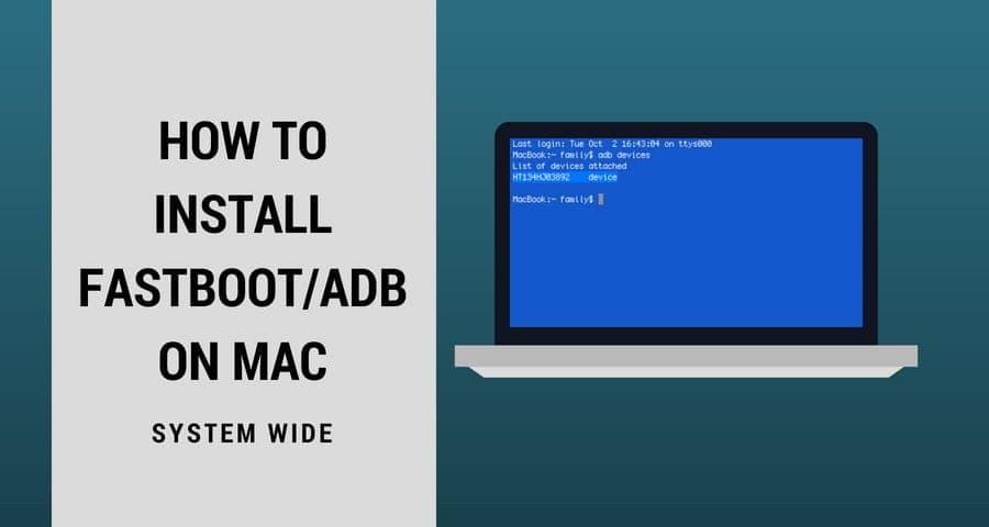 Cara Memasang Fastboot / ADB di Mac - Untuk Flash Pemulihan Android, Boot pada Mac
