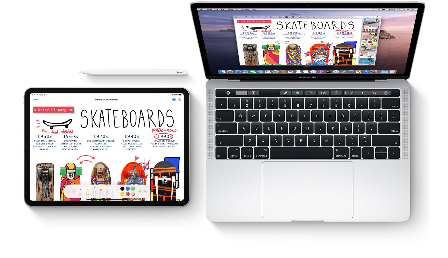 Mac iPad iPhone marcado