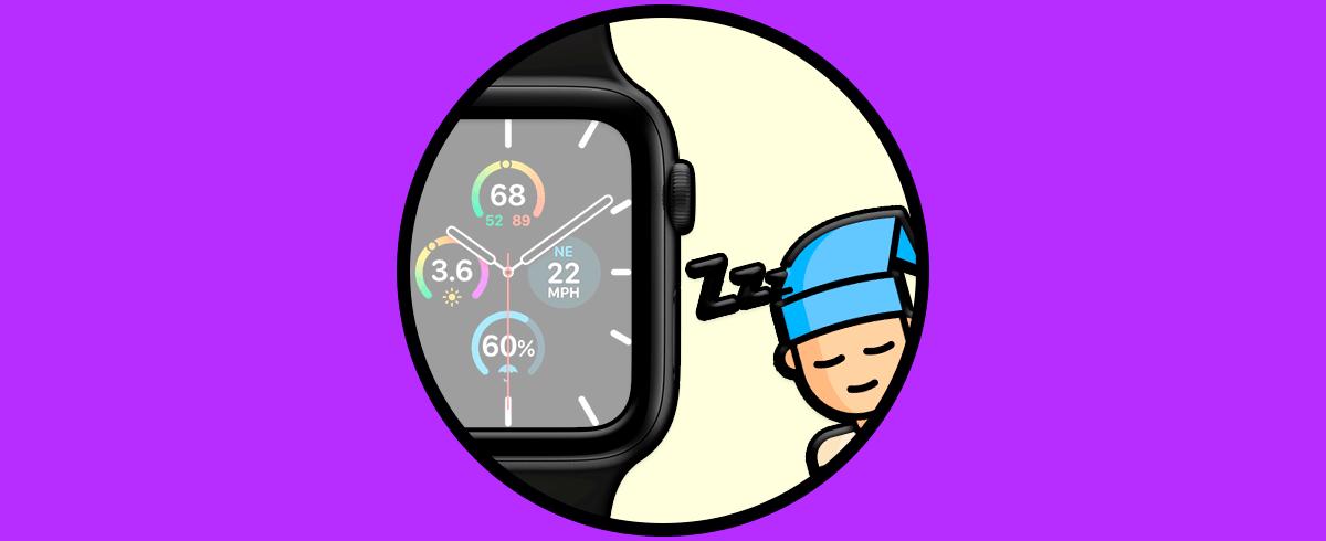 Cómo monitororear el sueño Apple Watch 5