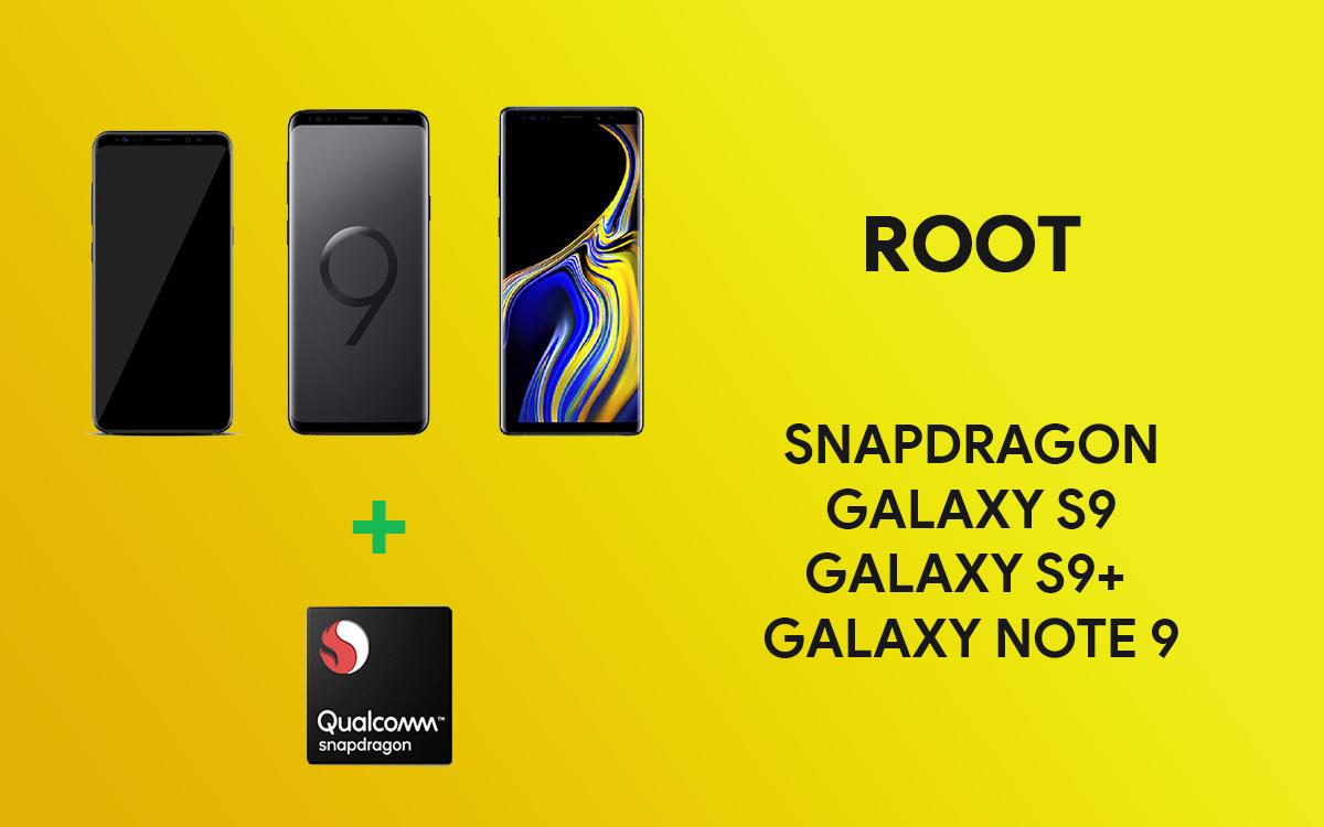 Jak uzyskać dostęp do roota w wersji Snapdragon Galaxy S9, S9 + …