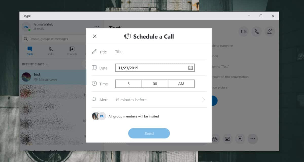 Cara menjadwalkan panggilan grup Skype 1