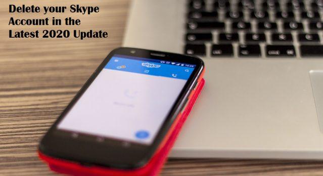 Hur du tar bort din Skype Konto (senaste version 2020) 1
