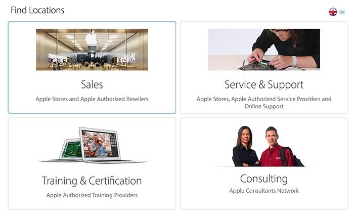 Apple  Enhetsreparation Auktoriserad reparationscenter