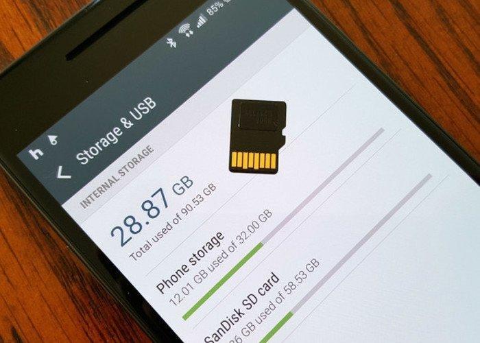 Convierta el almacenamiento interno en una simple tarjeta SD Samsung 2