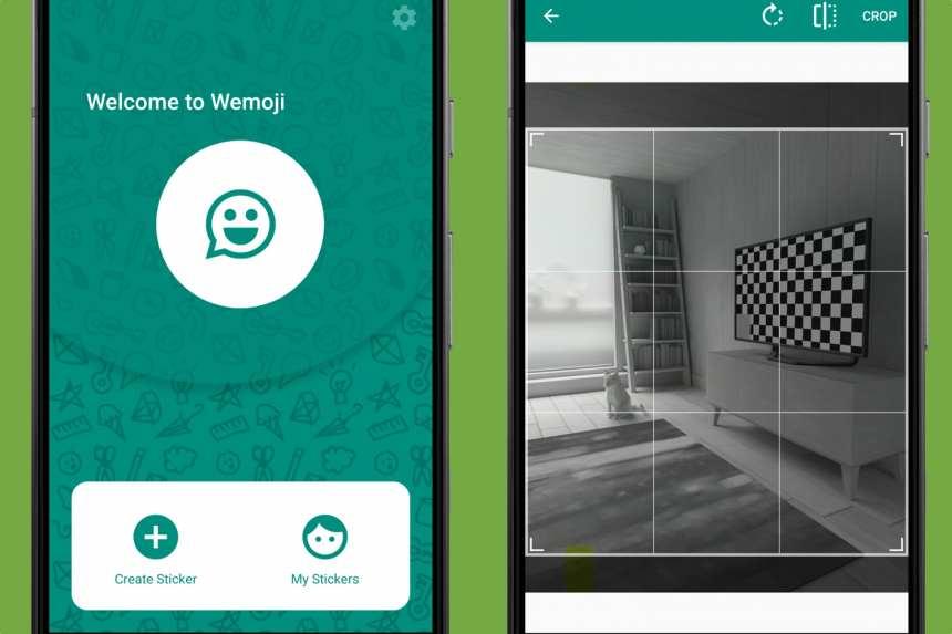 Crea stickers para WhatsApp en Android con Wemoji 2