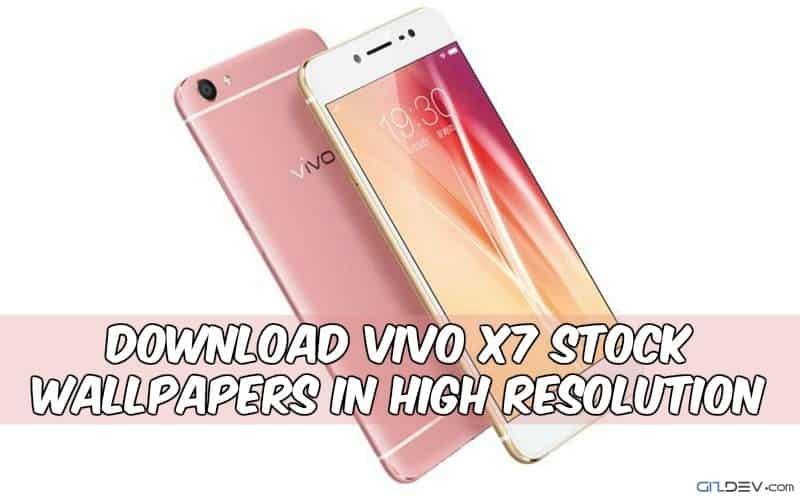 Lataa se Vivo Stock X7 taustakuva korkearesoluutioisena