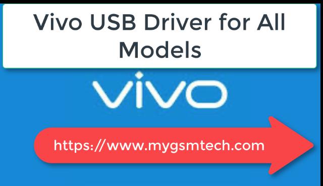 Descargar Vivo Todos los controladores USB (2020) para Windows 7/ /8/ 10